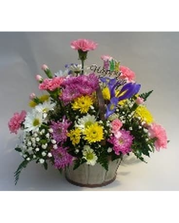 Easter Arrangement in Basket