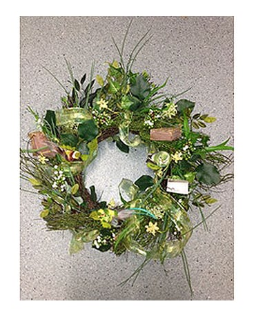 Misty Greens Wreath