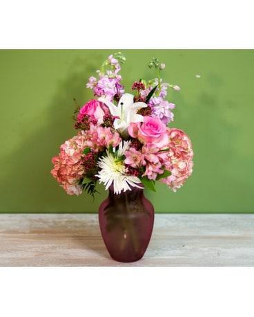 Baby Girl Vase In Merrick Ny Feldis Florists