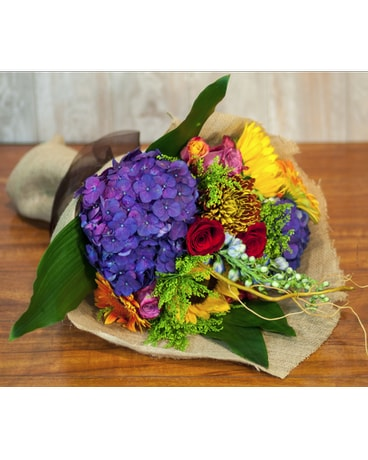 Premium Hand Tied Seasonal Bouquet