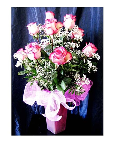 Premium Long-stem Carrousel Roses