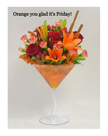 Orange You Glad It's Friday!