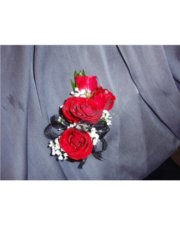 beautiful rose wristlet