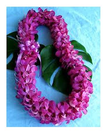Double Purple Dendro Lei
