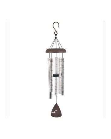 Carson Serenity Prayer Wind Chime