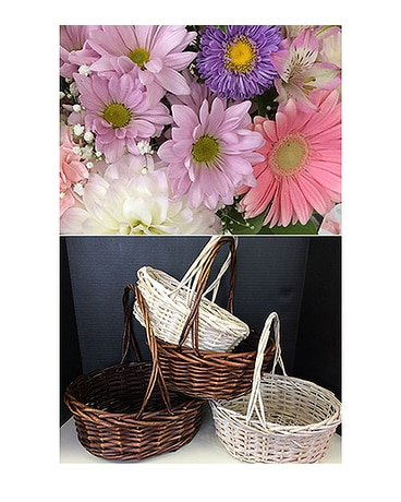 Pastels in a Basket