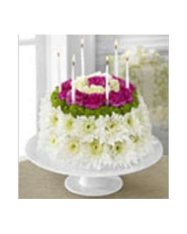 Quick View Birthday Floral Cake