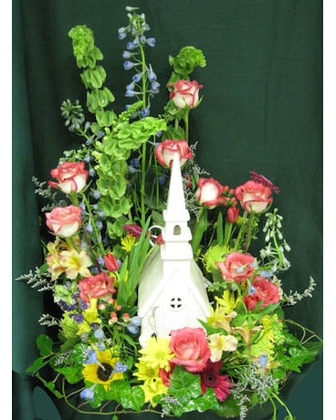 Memorial Flowers With Keepsakes