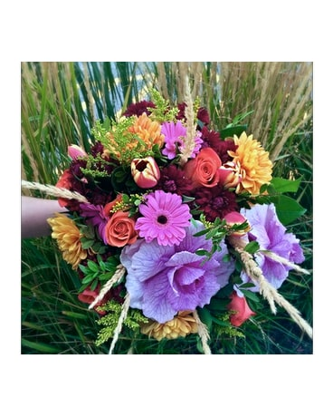 Designer's Choice- Seasonal Hand-tied Bouquet