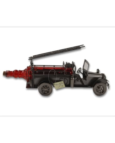 Wine Body Firetruck bottle holder