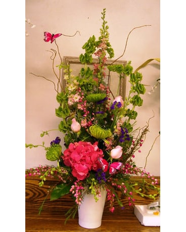 English garden arrangement