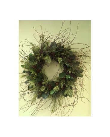 Adirondack Pinecone Wreath