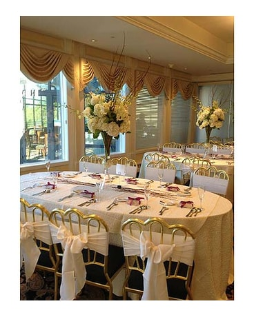 Flowers For The Wedding Reception Delivery Aberdeen Nj Flowers By Gina