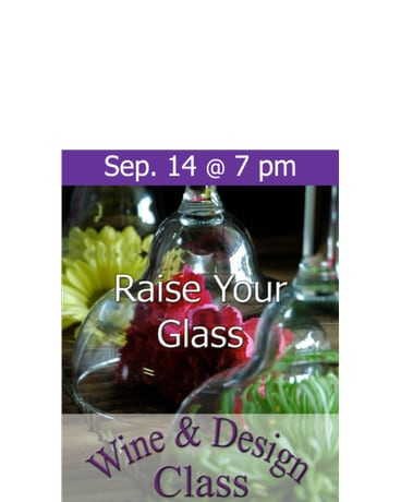 Raise Your Glass! 9/14