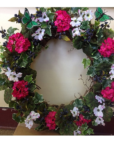 Silk Grapevine Wreath Spring/Summer