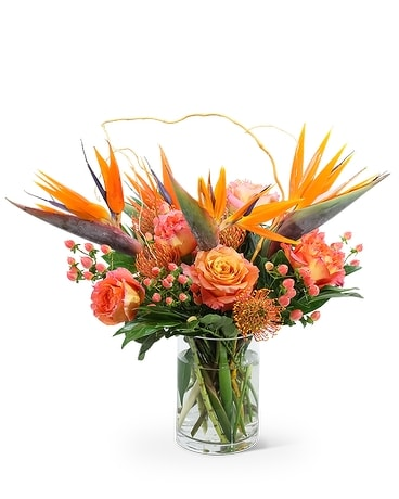 Spirit of the Tropics Flower Arrangement