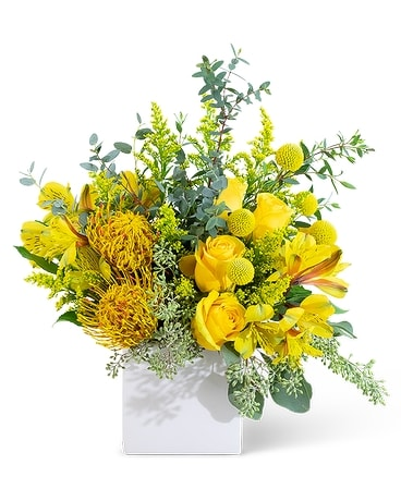 Bright Radiance Flower Arrangement