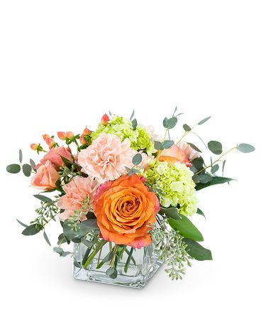 Warm Happy Welcome Flower Arrangement
