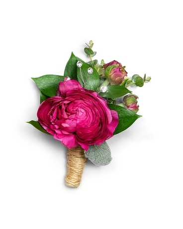Allure Boutonniere Flower Arrangement