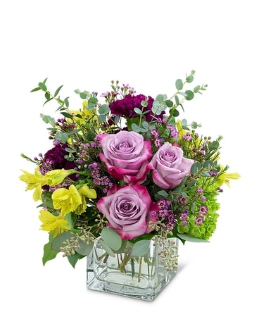 Perfect Plum Flower Arrangement