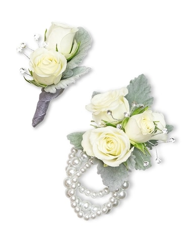 Virtue Corsage and Boutonniere Set Corsage