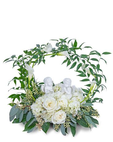Heavenly Halo Flower Arrangement