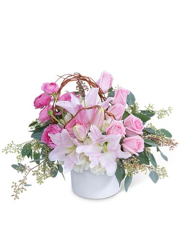 Blush and Beauty Flower Arrangement