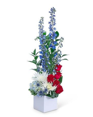 Strength and Valor Flower Arrangement