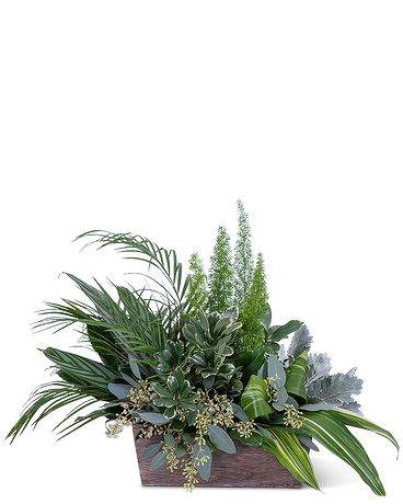 Verdant Love Flower Arrangement