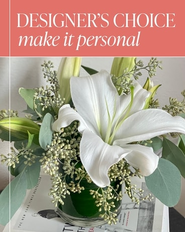 Designer's Choice - Make it Personal Flower Arrangement