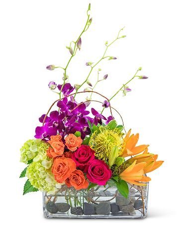 Vibrant Escape Flower Arrangement