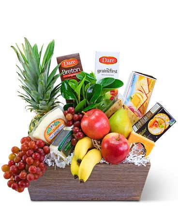 Classic Fruit & Cheese Basket