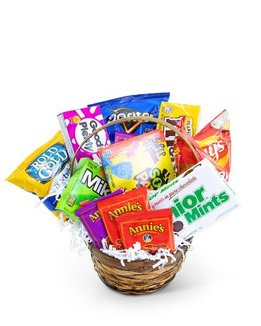 Sugar Rush Basket Gift Basket