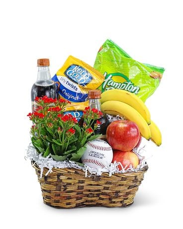 Home Run Basket Gift Basket