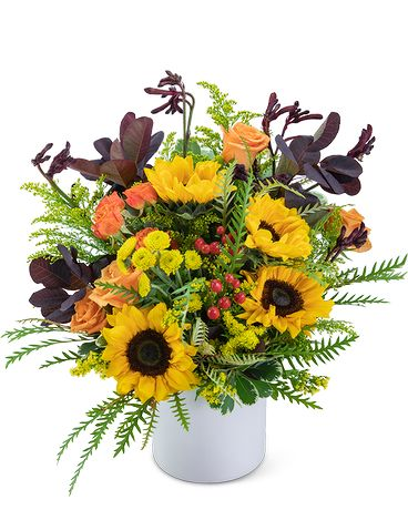 Overflowing with Sunshine Flower Arrangement