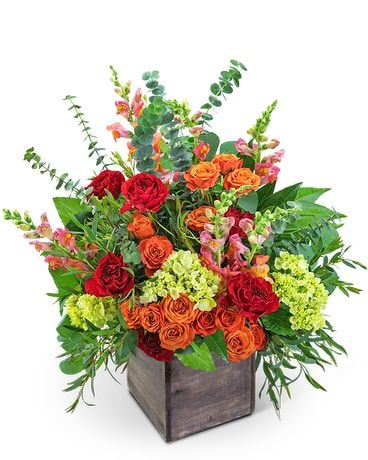 Casablanca Bliss Flower Arrangement