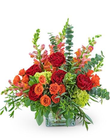 Capri Sunset Flower Arrangement