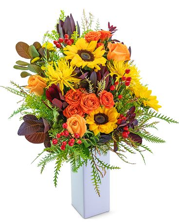 Tuscan Solstice Flower Arrangement