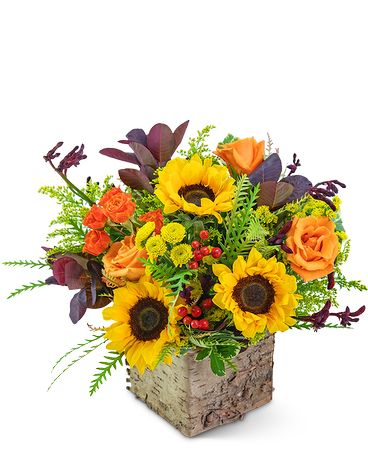 Morning Harvest Flower Arrangement