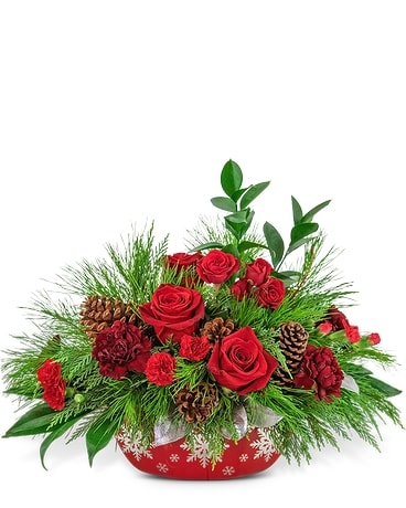 Yuletide Celebration Centerpiece