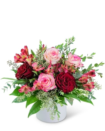 Red Velvet Love Flower Arrangement