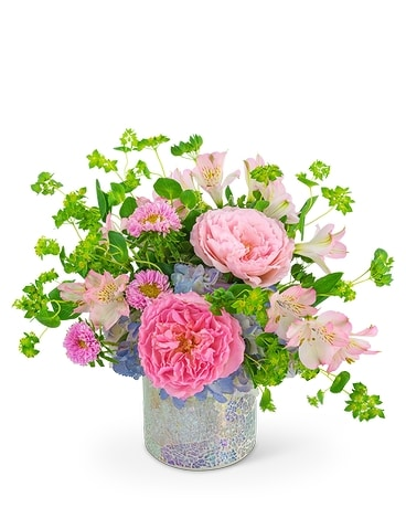 Shimmering Reflections Flower Arrangement