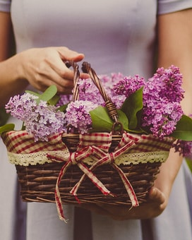 Baskets Flower Arrangement