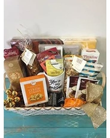 Warm your heart gourment basket Gift Basket
