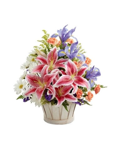 Wondrous Nature Bouquet Flower Arrangement
