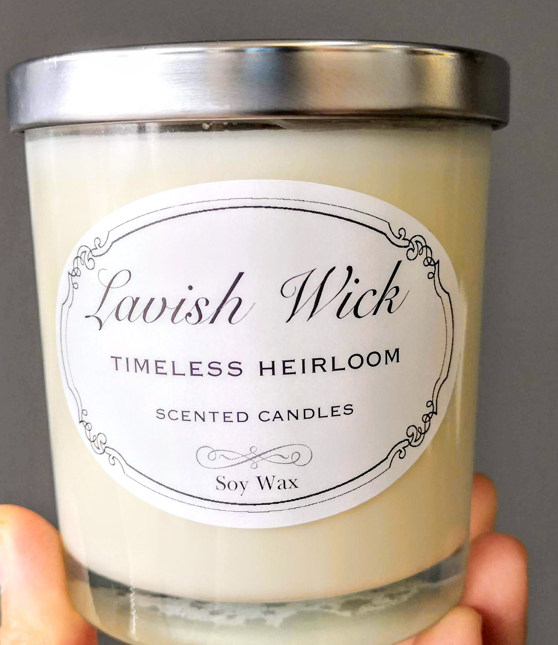 Handmade Soy Candle (scented)