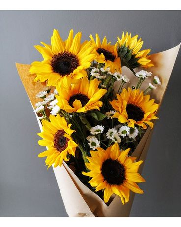 Sunflower daisy bouquet Flower Arrangement