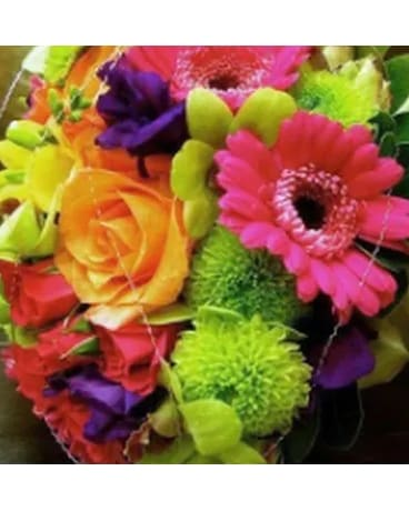 CHOIX DU FLEURISTE MULTICOLORE Flower Arrangement