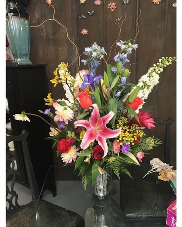 Coastal Fresh Mix Flower Arrangement