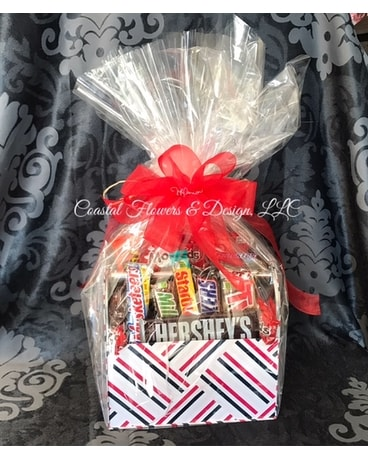 Candy Caddy Gift Basket